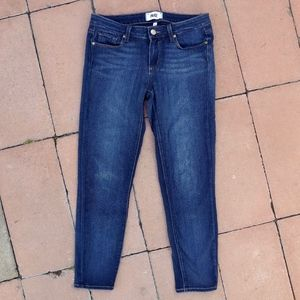 Paige Verdugo Crop Soft Skinny Stretch Jeans